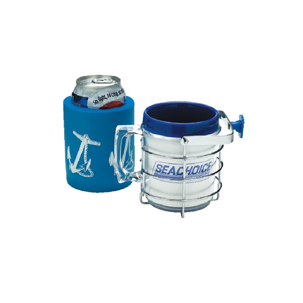 Seachoice Chrome Plated Drink Holder With Insulator