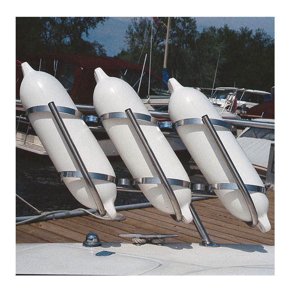 Stainless Steel Boat Fender Racks by Taylor Made