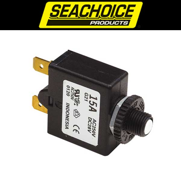 Seachoice Push Button Circuit Breakers