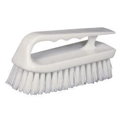 Star Brite Curved Plastic Handle Scrub Brush 40027