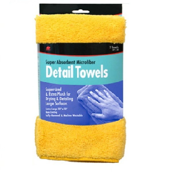 Buffalo Super Absorbent Microfiber Detail Towels