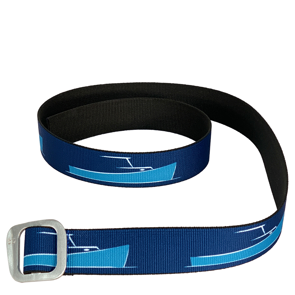 TotalBoat Nylon Web Belt with Aluminum Slide Buckle