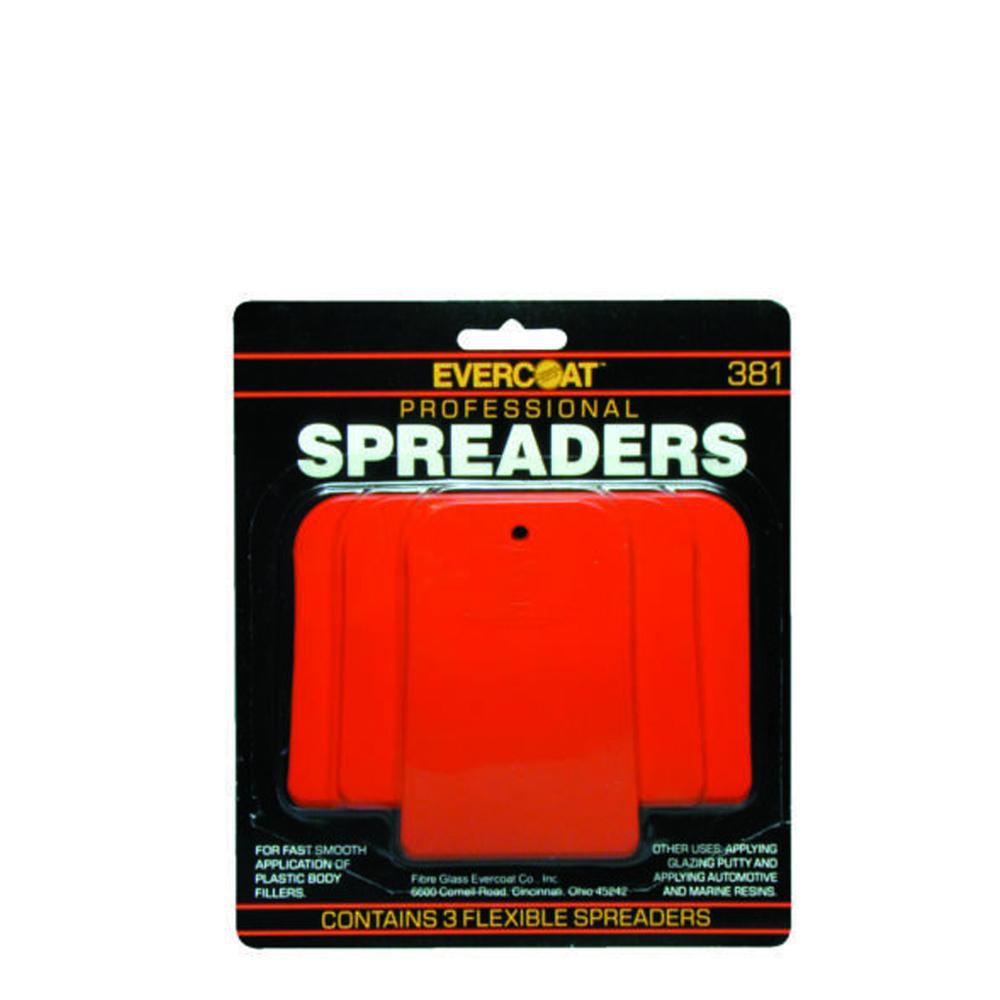 Evercoat Plastic Spreaders