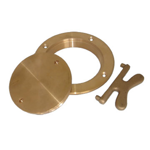 Buck Algonquin Bronze Deck Plates and Keys