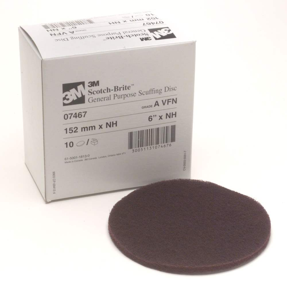3M Scotch Brite 6 Inch Scuffing Discs