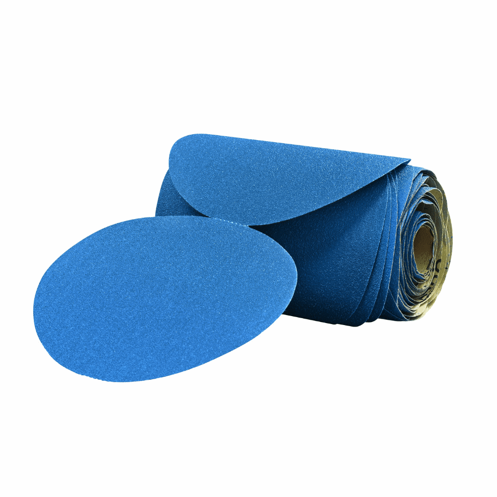 3M Stikit Blue 321 U 6 No Hole Sanding Disc Rolls