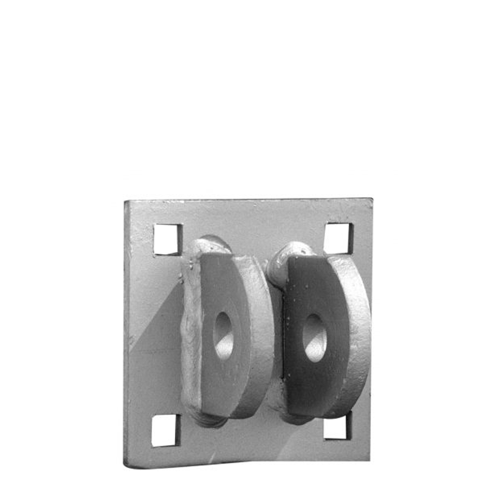 Dock Hardware Galvanized Female T-Connector