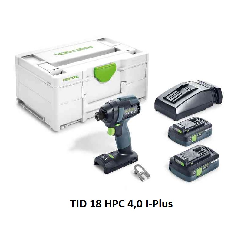 Festool TID 18 I-Plus - Cordless Impact Driver model 576480