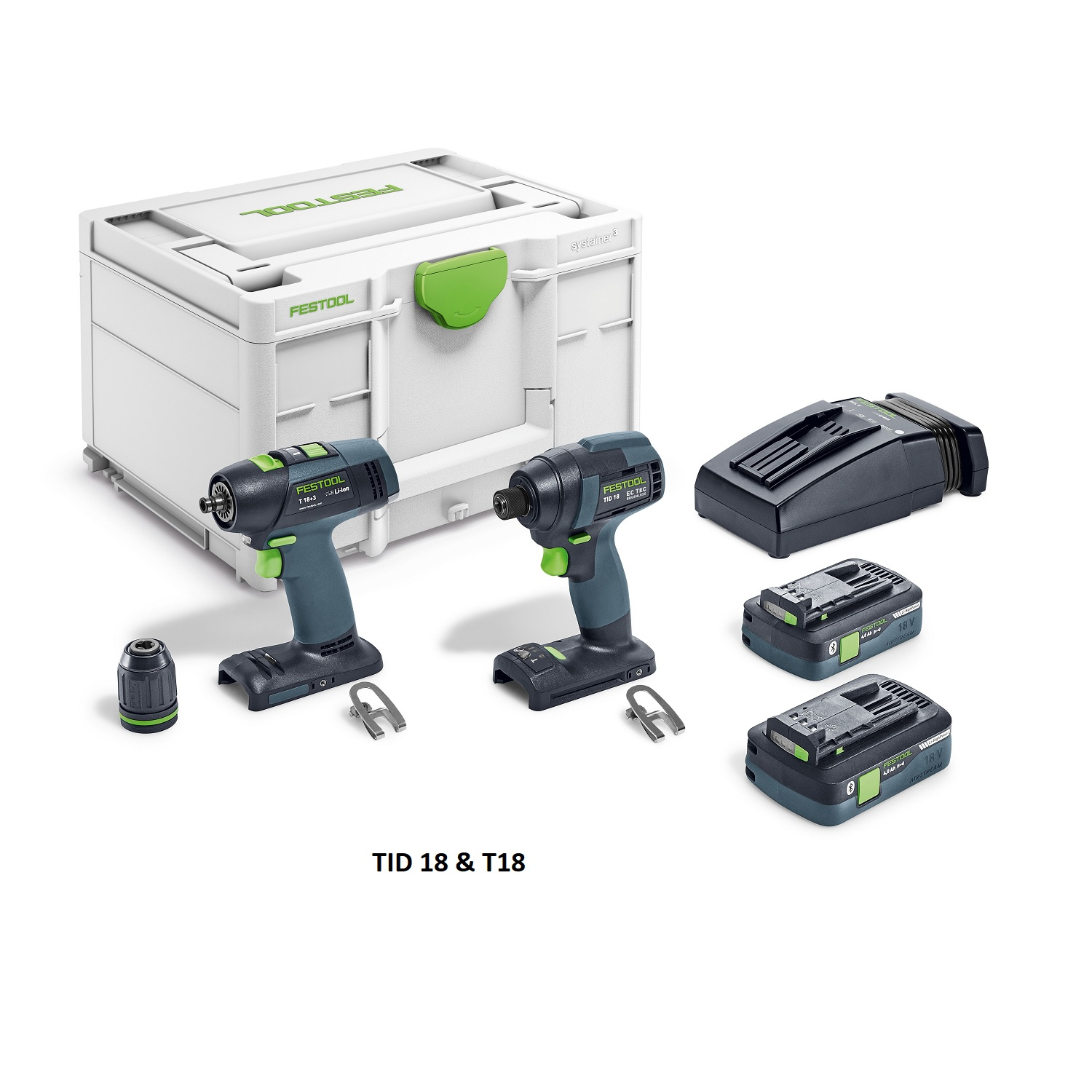 Festool Drill and Impact Driver Sets