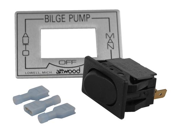 Attwood 3-Way Bilge Pump Switch