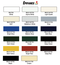 Mono-color swatches