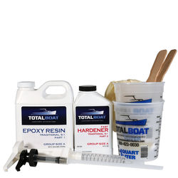 TotalBoat 5:1 Epoxy Kits Quart Group Size A