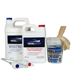 TotalBoat High Performance Epoxy Kits Group Size B Gallon Fast