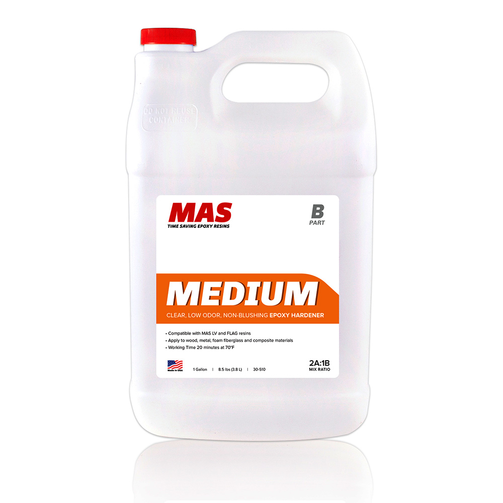 MAS Medium Epoxy Hardener Gallon size