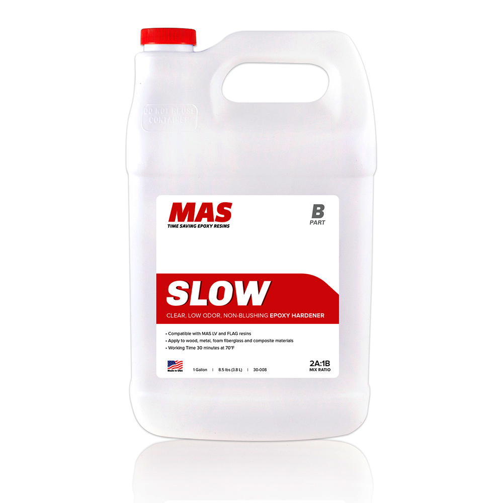 MAS Epoxy Slow  Hardener Gallon size