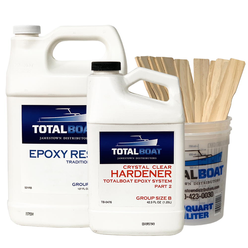 TotalBoat Crystal Clear Epoxy Kits