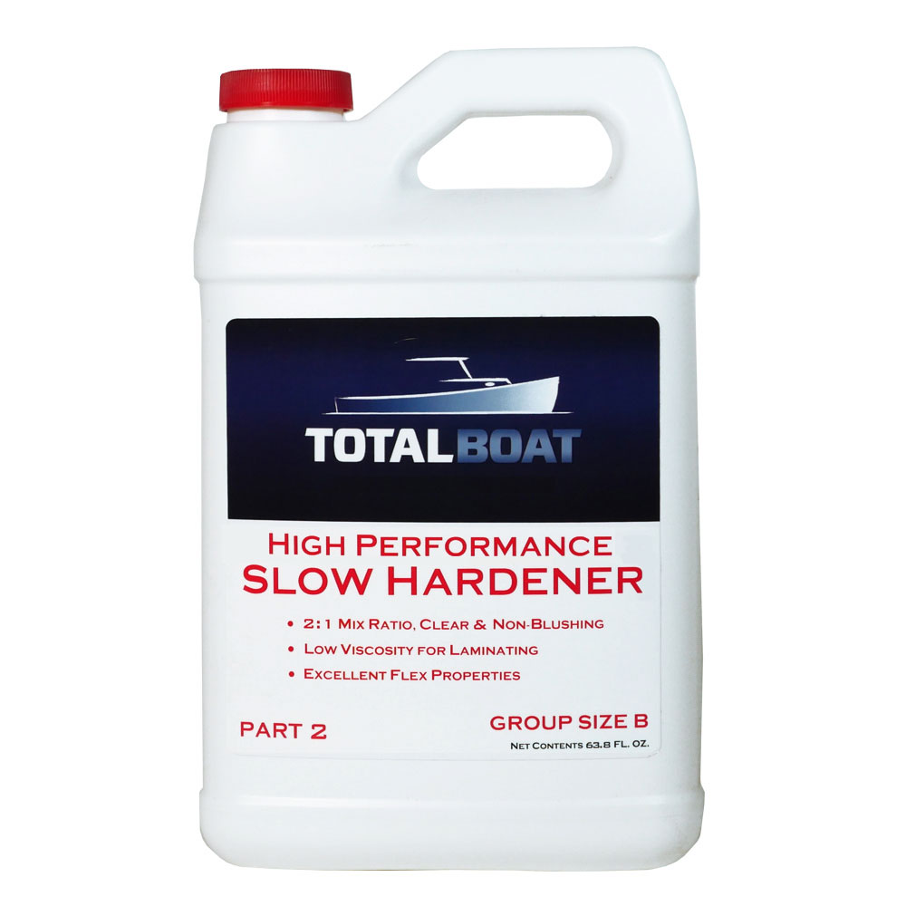 TotalBoat High Performance Slow Hardener Group Size B Half Gallon