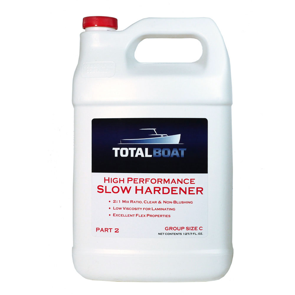TotalBoat High Performance Epoxy Slow Hardener Group Size C Gallon
