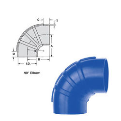 Shields Silicone 90 Degree Elbow Wet Exhaust Couplers