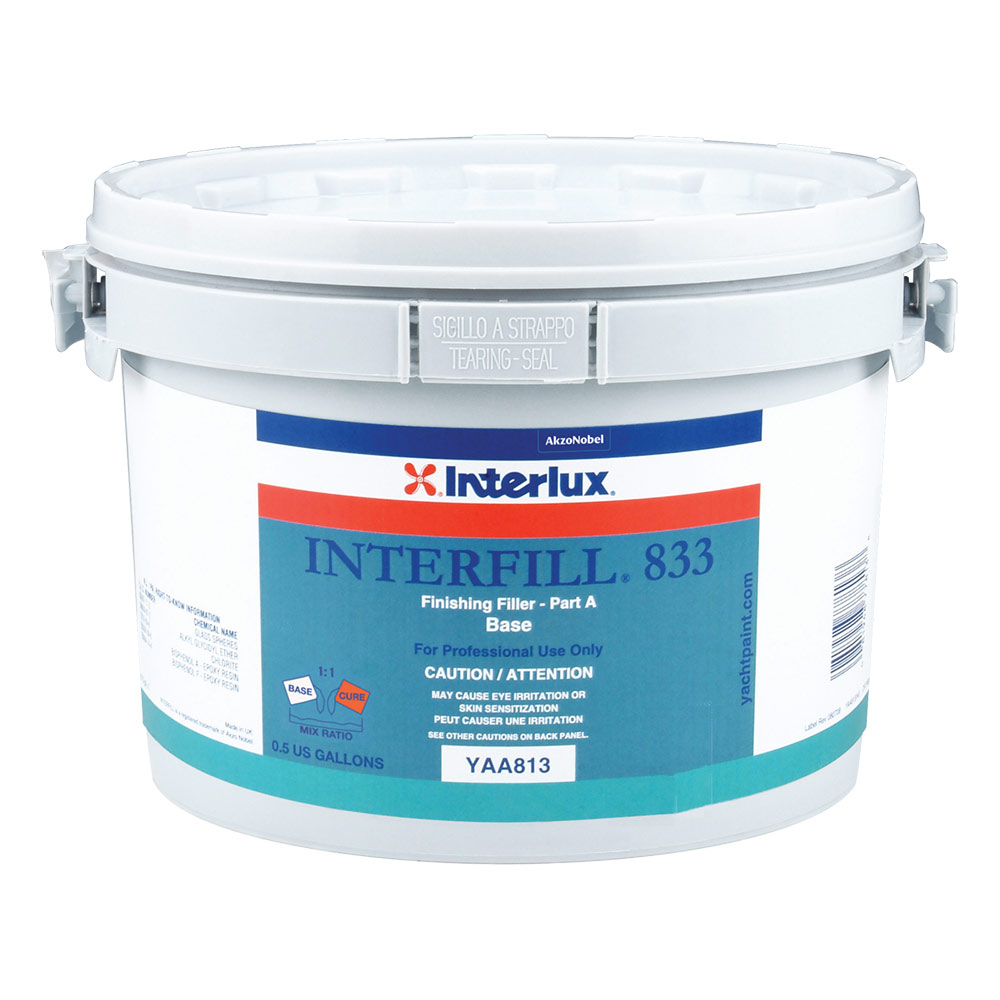 Interlux Interfill 833 Fast Cure Epoxy Finishing Fairing Compound