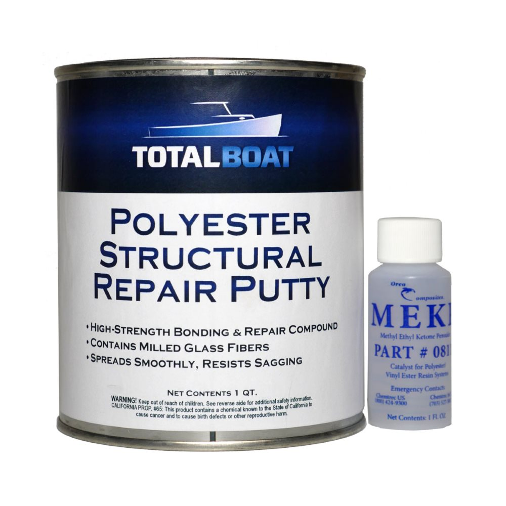 TotalBoat Polyester Structural Repair Putty