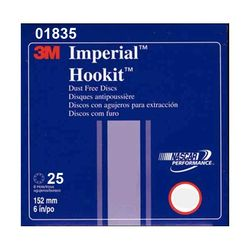 3M Imperial Hookit Dust Free 6in x 8 Hole Fein Sanding Discs