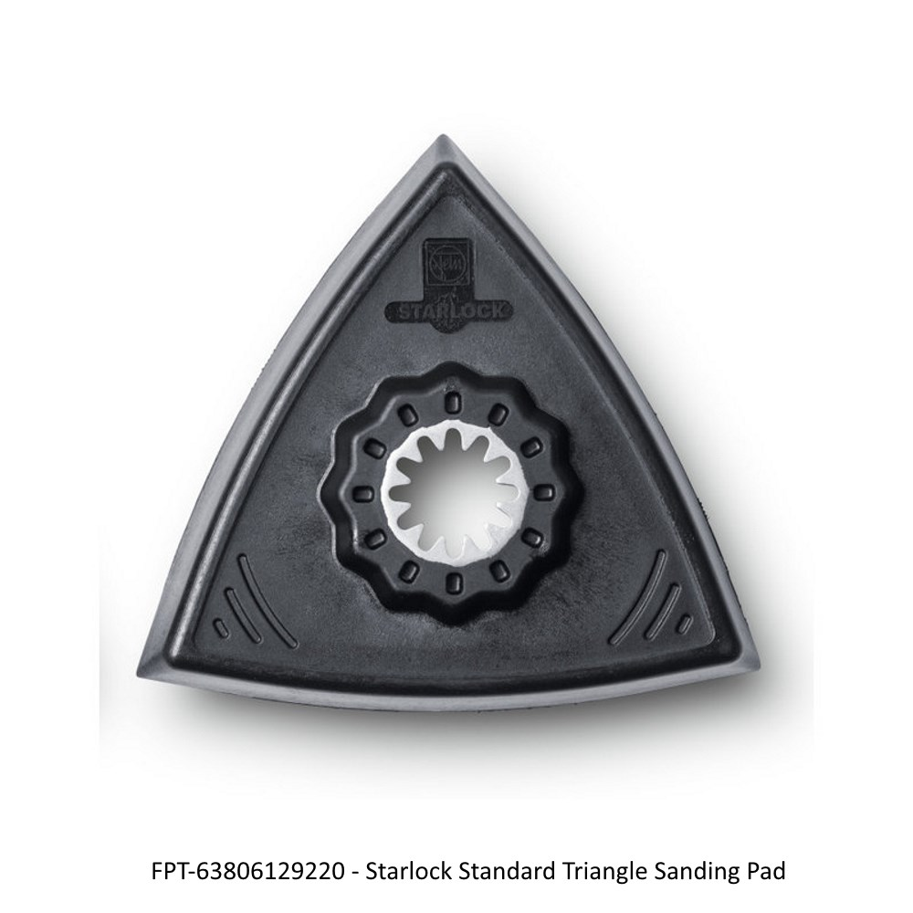 Fein Starlock Triangle Sanding Pads Hook and Loop