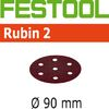 Festool StickFix Rubin RO 90 3.5 inch Disc Abrasives