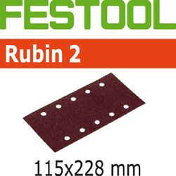Festool StickFix Rubin 2 Abrasives for RS 2 Sander