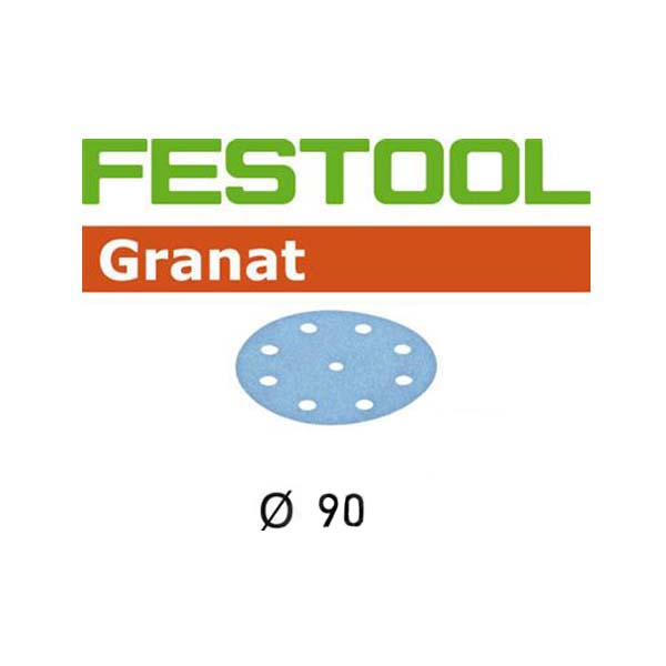 Festool StickFix Granat RO 90 3-1/2 inch Disc Abrasives