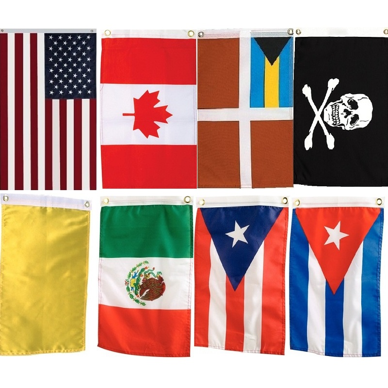 Seachoice Courtesy Flags