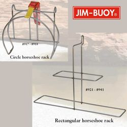 Cal-June Horseshoe Buoy Racks