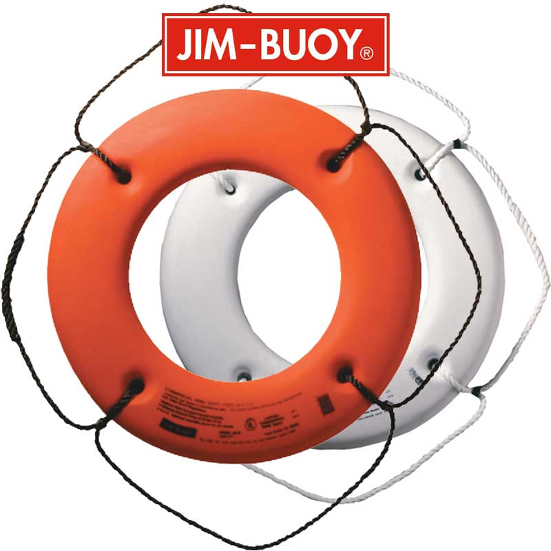 Cal-June USCG Approved Hard Shell Life Ring Buoys