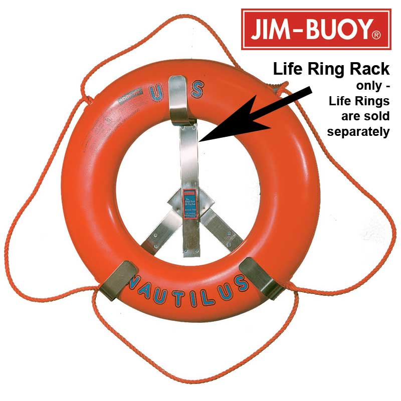 Cal-June Stainless Steel Life Ring Racks