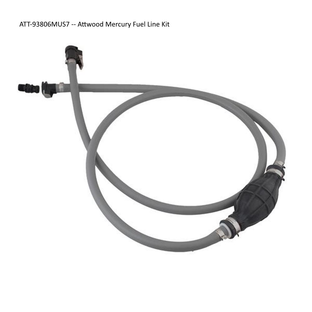 Attwood Fuel Line Kits - Mercury