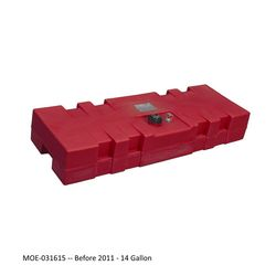 Moeller Topside Fuel Tanks Pre-2011 14 Gallon
