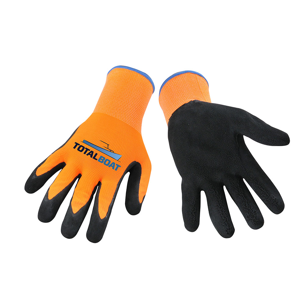 TotalBoat High Visibility Work Gloves