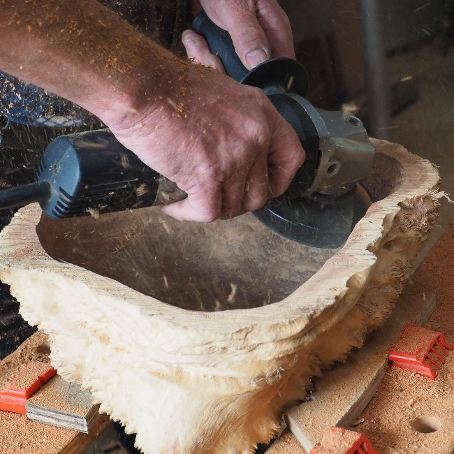 Turbo Plane Blade sculpting wood
