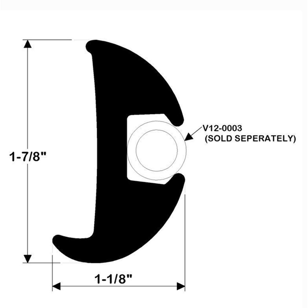 TACO Flexible Rub Rail Kit 2423