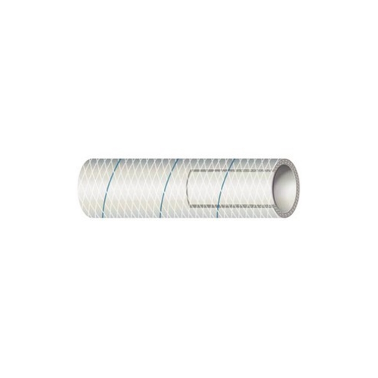 Shields Marine Clear PVC Hose with Blue Tracer - Series 164