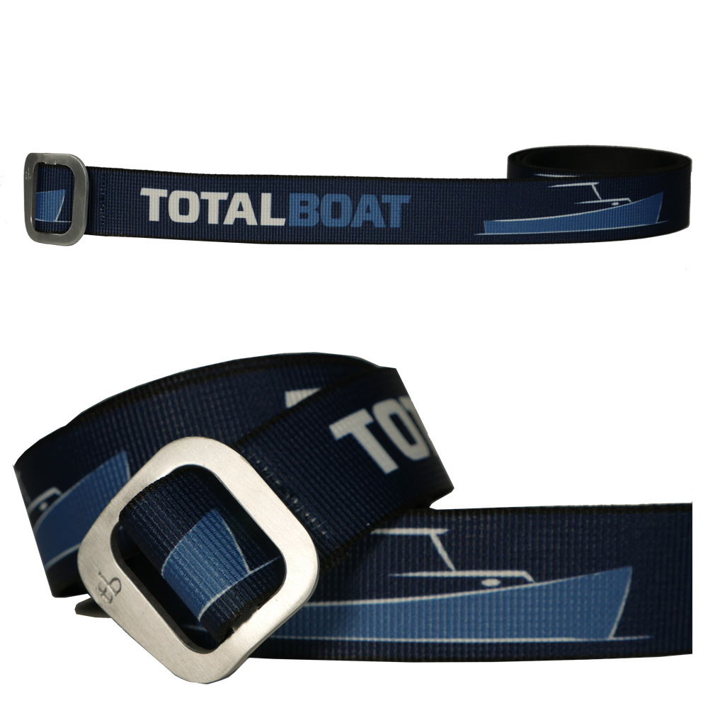 TotalBoat Web Belt with Aluminum Slide Buckle