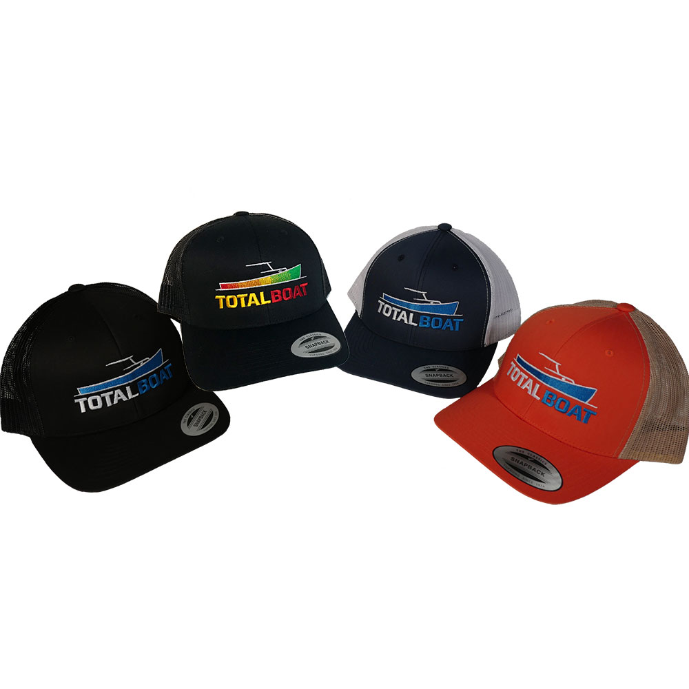 TotalBoat Snapback Trucker Caps