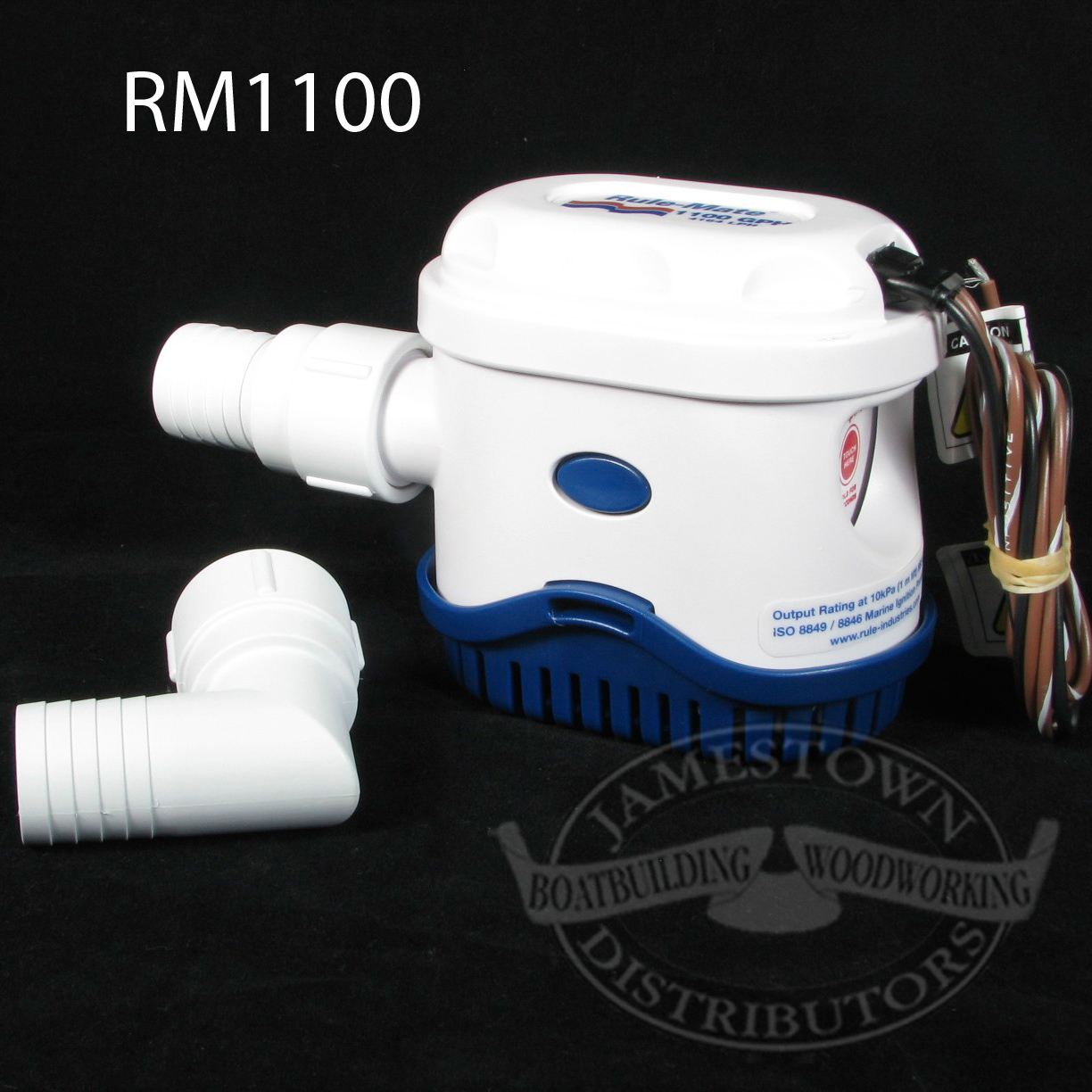 Rule Rulemate 1500 Gph Fully Automated Bilge Pump 12v Float Switch Wiring Diagram Directions Automatic Enchanting