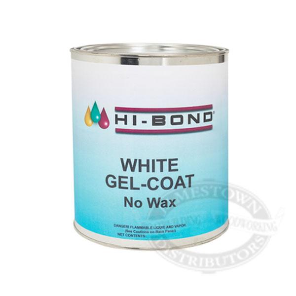 Hi-Bond White Gel Coat - No Wax w/ Hardener