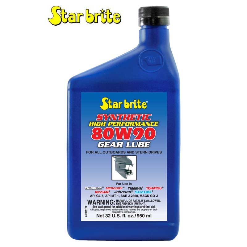 Star Brite 80W 90 Synthetic Lower Unit Gear Lube
