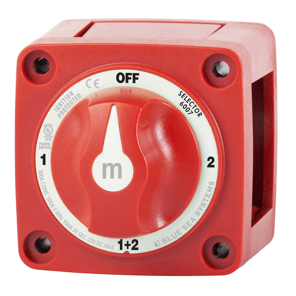 Blue Sea Systems M-Series Battery Switch Selector