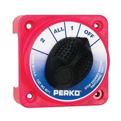 Perko Compact Medium Duty Battery Switches Without Key Lock