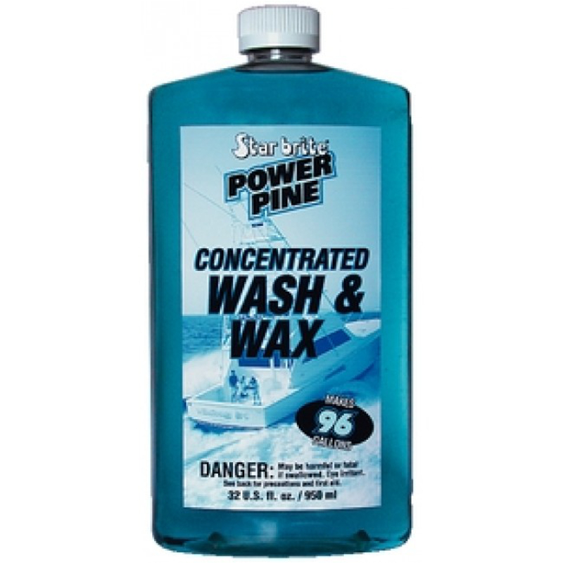Star Brite Power Pine Concentrated Wash & Wax