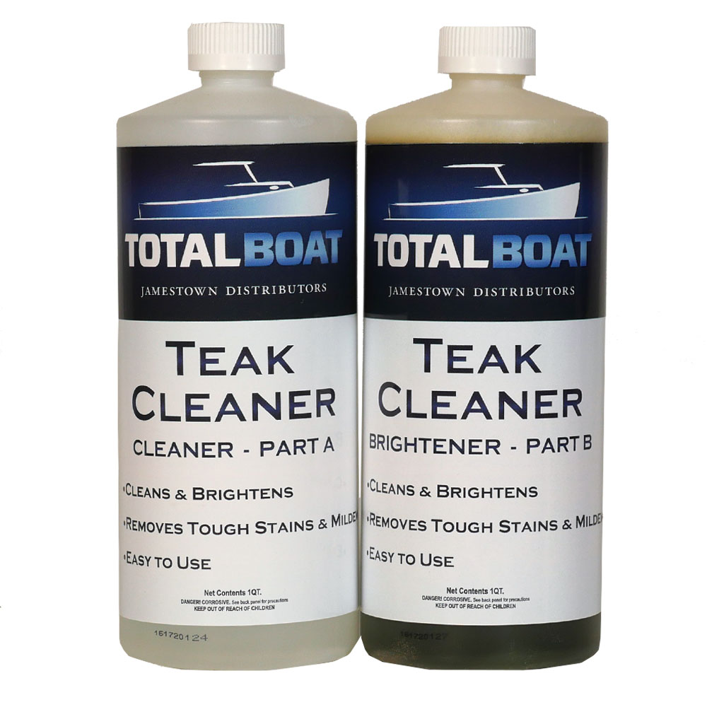 TotalBoat Teak Cleaner Parts A & B