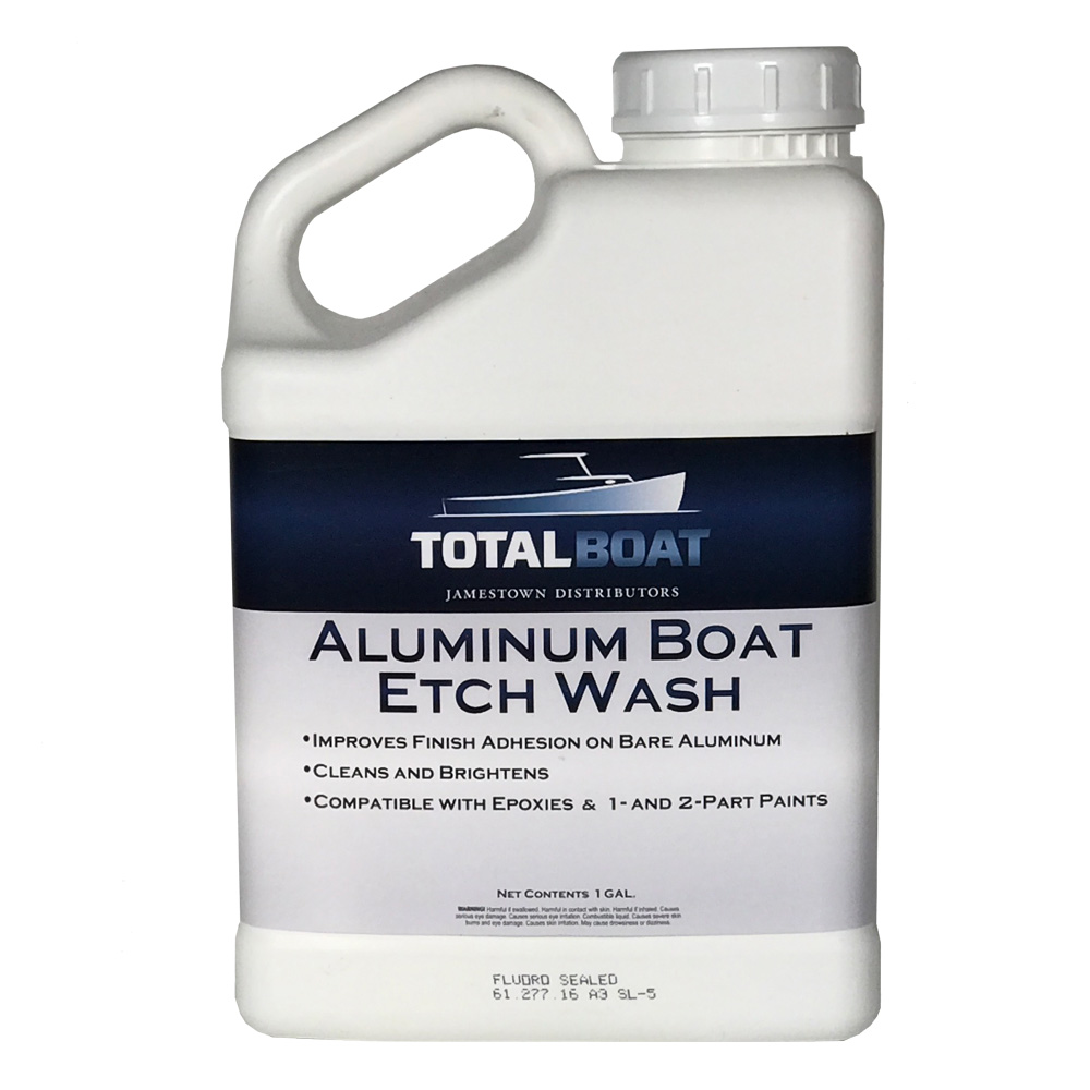 Aluminum Boat Etch Wash Gallon